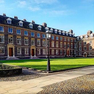 St Catharine's College, Cambridge - St Catharine's College (Main Court)