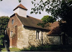 Grade II* listed buildings in Fareham (borough) - Image: St Edmund, Crofton geograph.org.uk 1511457
