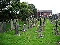 St James Roman Catholic Church, Orrell, Graveyard - geograph.org.uk - 574438.jpg
