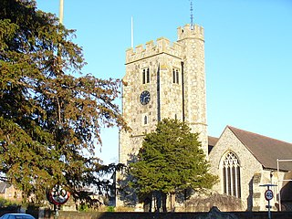 Stoke next Guildford Parish in England
