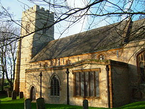 Edmund Francis Law - St John the Baptist church in Blisworth, Northants in January 2008