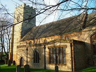 Edmund Francis Law - St John the Baptist church in Blisworth, Northants in January 2008