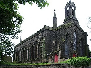 St John the Baptists Church, Smallbridge Church in Greater Manchester, England