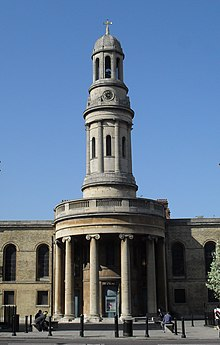 St Mary's Church, Bryanston Square, London (IoE Code 207691).JPG
