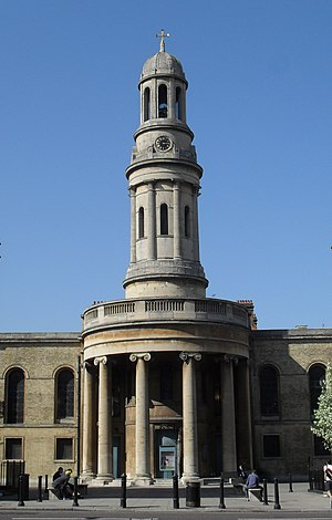 St Mary's, Bryanston Square - Image: St Mary's Church, Bryanston Square, London (Io E Code 207691)