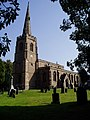 St Michael's Church, Stoney Stanton - geograph.org.uk - 238686.jpg