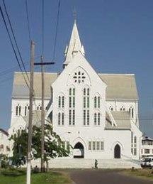 Guyana-Landmarks-St georges
