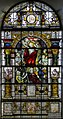 Stained glass window, St Mary's church, Glynde (15564586557).jpg
