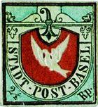 Colombe de Bâle 1845