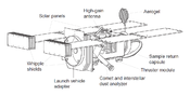 Diagram of the spacecraft