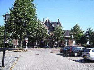 Leerdam railway station - Image: Station Leerdam oorspronkelijk gebouw