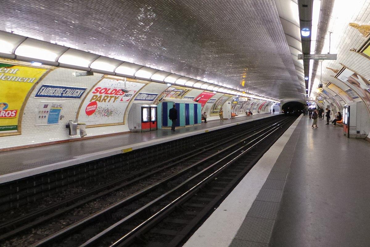 Faidherbe chaligny paris m tro wikipedia - Porte de charenton metro ...