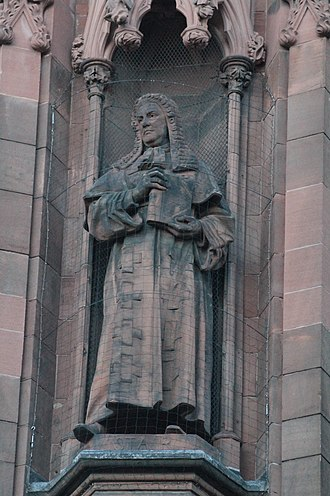 James Dalrymple, 1st Viscount of Stair - Statue of James Dalrymple, Viscount Stair, Scottish National Portrait Gallery
