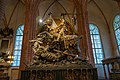 Statue of St George slaying the dragon - Sankt Nikolai kyrka (24489595249).jpg