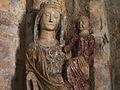 Statue polychrome d'une Vierge à l'enfant du XIVe siècle - Domfront (France) - 1.jpg