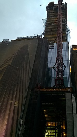 The Steinway Tower - Construction of The Steinway Tower on November 3, 2017