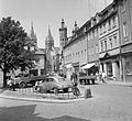 Steinweg, háttérben a Dóm. Fortepan 23475.jpg