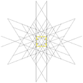 Stellation of rhombic triacontahedron 5 cubes facets.png