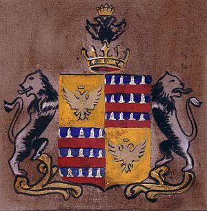 Gherardini family - Image: Stemma gherardini di firenze e montagliari