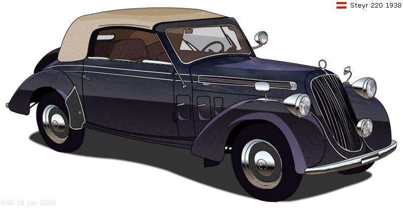 Steyr 220 1938