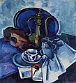 Still Life with a Smoking Pipe by Alexander V. Kuprin (1916–17).jpg