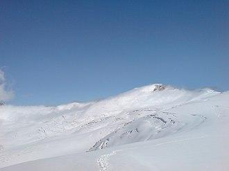 Findel Glacier - Findelgletscher near the junction with the Gorner Glacier at the Stockhornpass