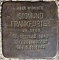 Stolperstein Göppingen, Sigmund Frankfurter.jpg
