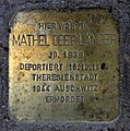Stolperstein Hohenzollerndamm 4 (Wilmd) Mathel Oberländer.jpg