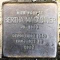 Stolperstein Meraner Str 11 (Schöb) Bertha Magasiner.jpg