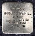 Stolperstein Motzstr 25 (Schön) Hermann Wachtel.jpg