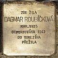 Stolperstein für Dagmar Roubickova.jpg