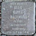 Stolpersteine K-Neuehrenfeld Siemensstr 60 Alex Meyer-Wachmann.jpg