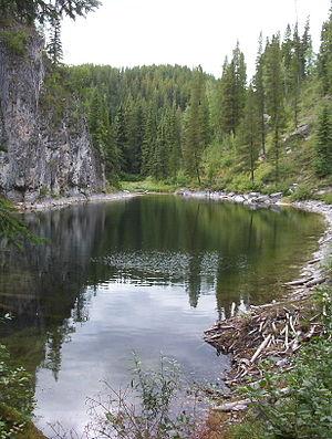 Monkman Provincial Park - The Stone Corral in Monkman Provincial Park, a doline.