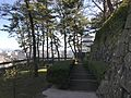 Stone wall and Southeast Turret of Shimabara Castle.jpg