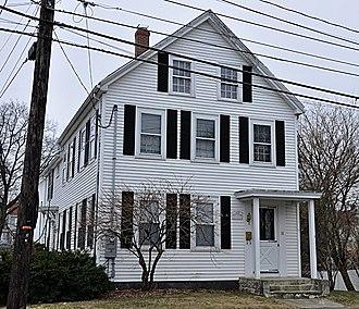 National Register of Historic Places listings in Stoneham, Massachusetts - Image: Stoneham MA Padilla Beard House
