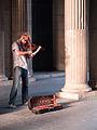 Street musician, Louvre, Paris August 12, 2011.jpg
