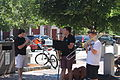 Street musicians in Portsmouth, NH IMG 2667.JPG