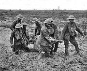 Stretcher bearers Passchendaele August 1917