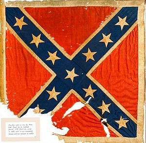 Cavalry Corps, Army of Northern Virginia - The Cavalry Corps battle flag