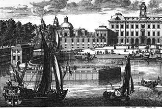 Drottningholm Palace - Drottningholm Palace ca 1700.