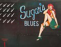 Sugar's Blues Lancaster nose at Bomber Command Museum Canada Flickr 8048055490.jpg