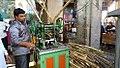 Sugarcane juice vendor Hyderabad.jpg
