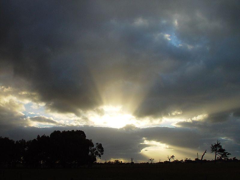File:Sun exploding through clouds.jpg