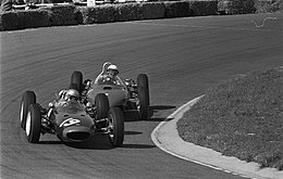 Surtees at 1962 Dutch Grand Prix