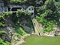 Susobana Dam boathouse.jpg