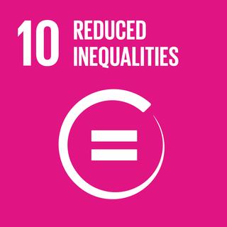Sustainable Development Goal 10 Reduce inequality.