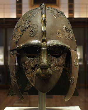 Our Top Ten Treasures - The Sutton Hoo helmet