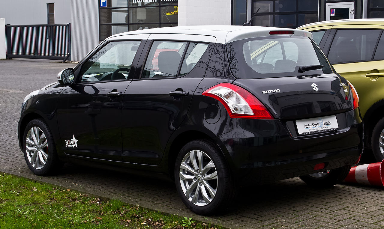 File Suzuki Swift 1 2 30 Jahre Fz Nz Facelift