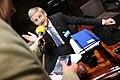 Sveriges utrikesminster Carl Bildt vid Nordiska radets session i Helsingfors. 2008-10-27 (2).jpg