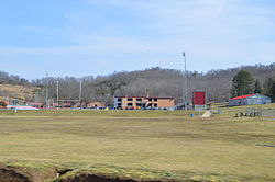 Symmes Valley High School, north of Aid